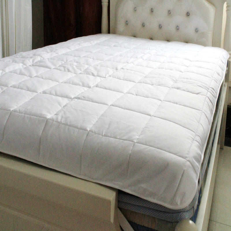 Five-star hotel 2.0m bed,1.8m bed, 1.5m bed white non-slip cotton bed pad