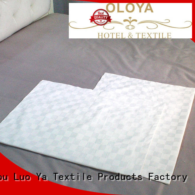 smooth cotton pillowcase directly sale for hotel