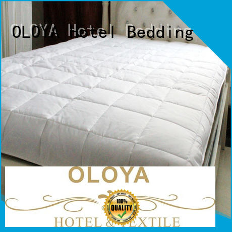 OLOYA mattress pad shop now for bed