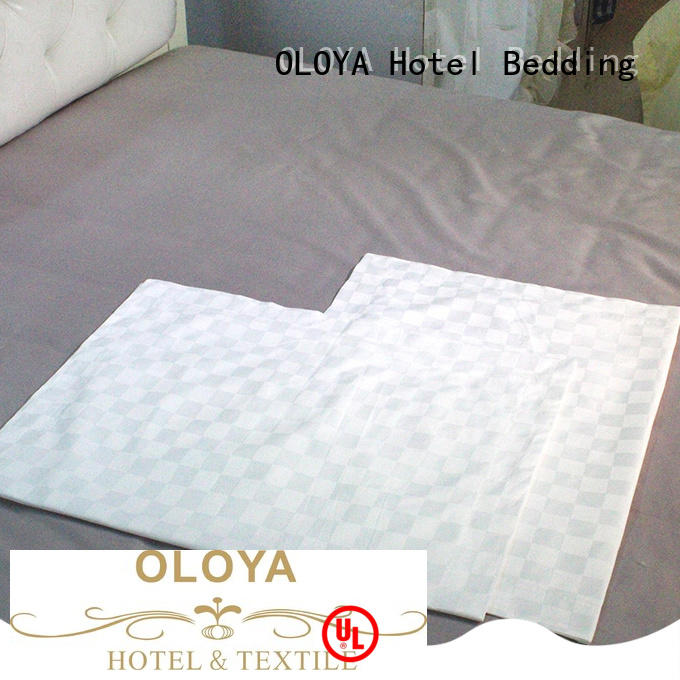 fashion design pillowcase for manufacturer for hotel