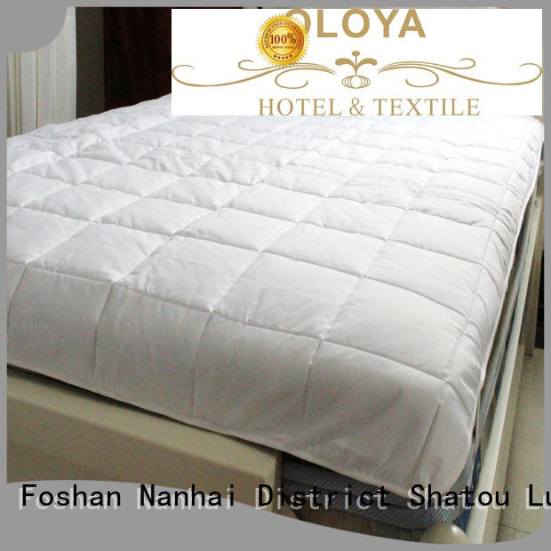 OLOYA excellent bed pad order now for hotel