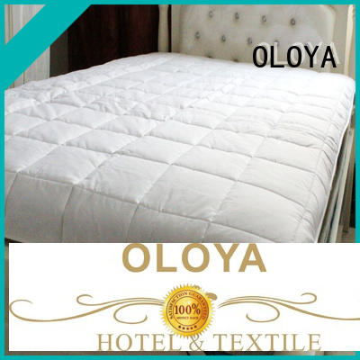 OLOYA bed pad producer for hotel