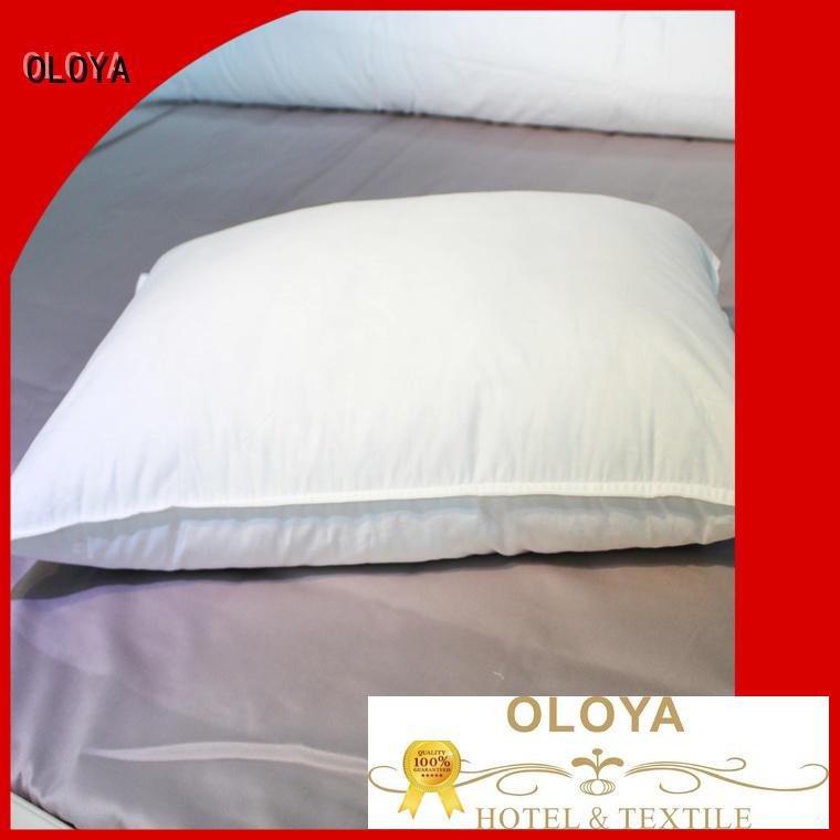 OLOYA fashion design pillow for manufacturer for hotel