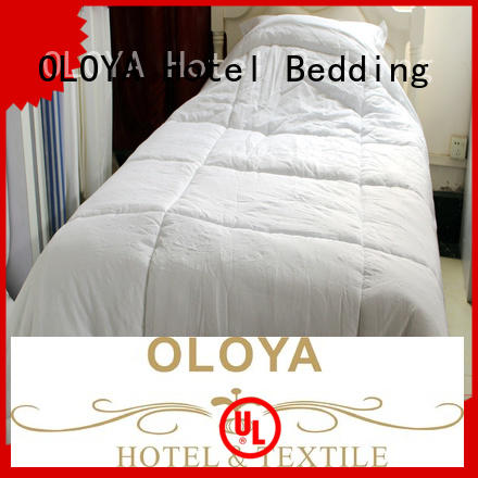 OLOYA competitive price cotton duvet insert in china for bed