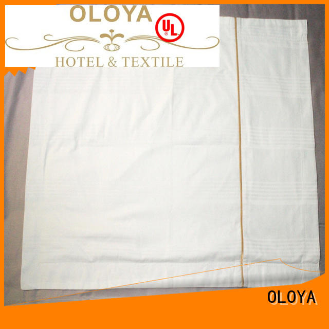 OLOYA soft white pillow cases directly sale for pillow