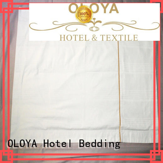 OLOYA white pillow cases directly sale for pillow
