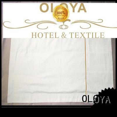 OLOYA outstanding white pillow cases bulk production for pillow