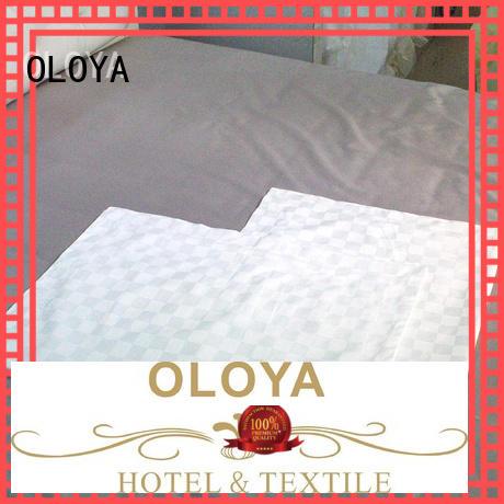 OLOYA white pillow cases producer for pillow